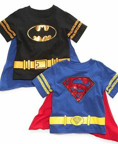 Warner Brothers Kids T-Shirt, Little Boys Superhero Cape Tee - Kids - Macy's Agatha Christie, Superhero Capes, Small Boy, Warner Brothers, Tee Online, Kids Wear, Little Boys, Kids Outfits, Tees