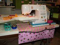 "Sewing machine ""apron"""