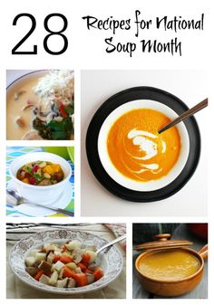Recipes for National Soup Month - The Mommy Mix