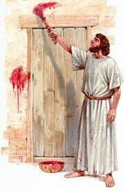 """First Passover... """"Without the shedding of blood there is no forgiveness of sin."""" Jesus shed His blood, so your wouldn't have too."""