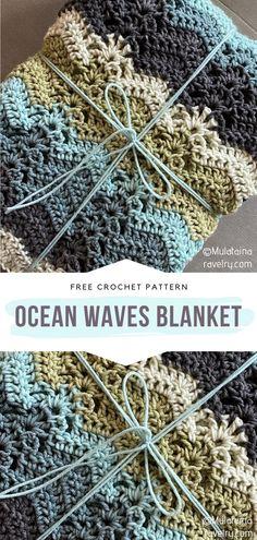 Crotchet Blanket Patterns, Afghan Patterns, Crochet Blankets, Baby Blanket Crochet, Crochet Afghans, Dishcloth Crochet, Crochet Rugs, Crochet Blocks, Throw Blankets