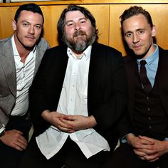 Luke Evans, Ben Wheatley and Tom Hiddleston attend the 2016 Tribeca Film Festival After Party For High-Rise Sponsored By EFFEN Vodka at Boom Boom Room on April 20, 2016 in New York City. Full size image: http://ww1.sinaimg.cn/large/6e14d388gw1f34dk5uwssj22bc1jk4qr.jpg Source: Torrilla, Weibo
