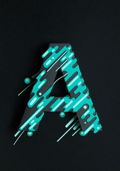 Atype on Behance — Designspiration