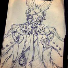2,281 отметок «Нравится», 13 комментариев — STATO (@ozo_stato) в Instagram: «T.T.T •시간 여행자 - 러프 스케치 -래빗엔더갱(토기단) - 길잡이 토끼 #TTT #시간여행자 #캐릭터 #설정 #character #stato #sketch #pencil…»