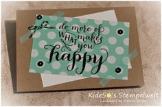 KideSo's Stempelwelt: Do more of what makes you happy aus dem Stempelset #Hellolife von #Stampinup