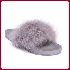 Mizzshuzz ,  Damen Peep Toes , grau - grau - Größe: 35.5 - Sandalen für frauen (*Partner-Link)