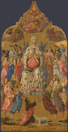 The Assumption of the Virgin, probably 1474, Matteo di Giovanni