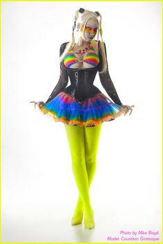 . cyber punk rainbow . by Countess-Grotesque.deviantart.com