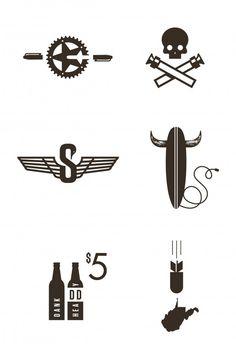 J Fletcher Design icons for his Groomsmen.