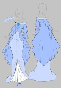 by rika-dono on deviantART. Source by Arigoddess dress drawing Dress Drawing, Drawing Clothes, Outfit Drawings, Fashion Design Drawings, Fashion Sketches, Character Outfits, Character Art, Kleidung Design, Anime Dress