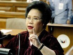 Sen. Miriam Defensor-Santiago, cosponsor of the contentious bill, said it was time to put it to a vote after the senators had argued all the issues surrounding the bill