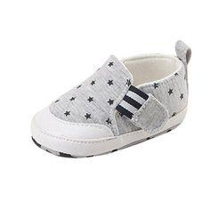 Oferta: 1.89€. Comprar Ofertas de Zapatos de bebé SMARTLADY Zapatos del antideslizante para Recién nacido Niña Niño (12-18 meses, Gris) barato. ¡Mira las ofertas!