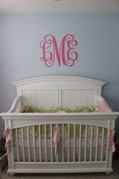 Blue, Green, and Pink Theme Nursery | Project Nursery