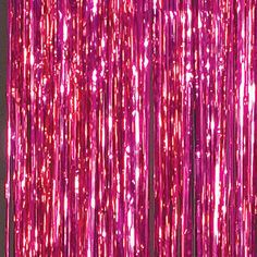 These Hot Pink Foil Curtains make a shiny backdrop for your event. Hang these 3 feet wide by 8 feet vinyl high curtains quickly and with ease. You'll have a beautiful photo op in seconds! Bedroom Wall Collage, Photo Wall Collage, Picture Wall, Orange Pastel, Magenta, Foil Curtain, Catty Noir, Party Background, Hot Pink Background