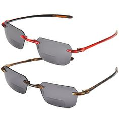 Rimless sunglasses look great AND have bifocal reader lenses!