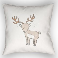 "Viv + Rae Gianna Indoor/Outdoor Throw Pillow Size: 20"" H x 20"" W"