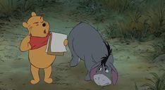 Winnie the Pooh and Eeyore Expo Disney, Old Disney, Disney Films, Disney Fun, Disney Magic, Disney Characters, Disney Insider, Winnie The Pooh Quotes, Disney Winnie The Pooh