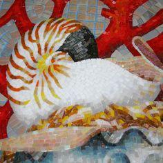 Resultado de imagen para мозаика синяя растяжка