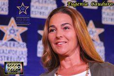 Eugenia Cauduro.  De gala se vistió Galerías Plaza de las Estrellas, con la presencia de Eugenia Cauduro. Recibió su Luminaria de Oro, este viernes 22 de agosto..