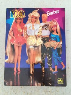 This is a listing for a brand new sealed in box 100 piece Barbie puzzle circa 1993. Box is in great shape and unopened. Great for any Barbie lover and collector! Great for people of all ages and creeds. Puzzle features Barbie, Kelly, Ken and one of Barbies friends dressed up ready for 1993 (weren't we all?) Now is your chance to have a great sealed piece of Barbie history. As always&#x3b; view all photos closely and ask all questions before hit...