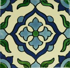 Especial Decorative Tile - Cruz Azul - Mexican Tile Designs