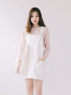Learn About These Great korean fashion outfits 5244 K Fashion, Ulzzang Fashion, Korea Fashion, Cute Fashion, Asian Fashion, Fashion Looks, Fashion Outfits, Fashion Design, Fashion Ideas
