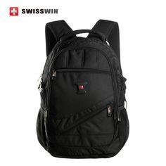 Swisswin 14 15 16 inch laptop backpack male women's backpack bag Notebook mochila for teenage girls Bagpack Rucksack Knapsack Swiss Army Bag, Waterproof Laptop Backpack, Computer Bags, Cheap Bags, Designer Backpacks, Laptop Accessories, Zipper Bags, School Bags, Luggage Bags