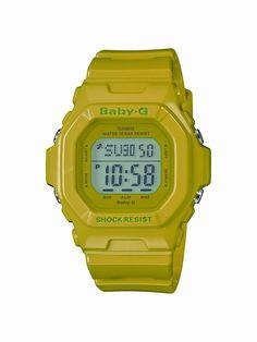 Casio Baby G-Shock ref. G Watch, Casio Watch, G Shock Watches, Sport Watches, Casio Baby G Shock, Digital Watch, Luxury Watches, Peridot, Green