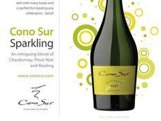Cono Sur Sparkling ad by Simon Oakley