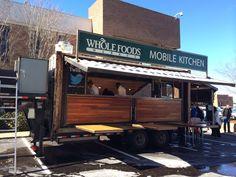 Whole Foods food truck serving up catfish, shrimp and tofu sliders