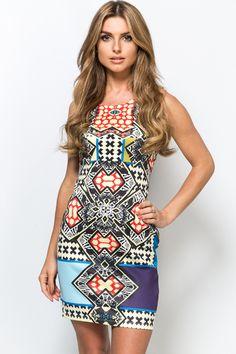 Pop Tribal Bodycon Dress Dress P, New Dress, Bodycon Dress, Pop, Fashion, Moda, Body Con, Popular, Pop Music
