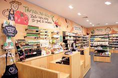 Чудесный интерьер магазина натуральных продуктов bio&bio в Хорватии