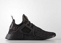 ebe664e0cf84af ADIDAS NMD XR1 Primeknit Shoes Black BA7214