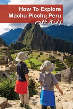 Are you wondering if you should bring your kids to visit Machu Picchu? Find out more about how we explored Machu Picchu with our 6 and 3-year-old.  Family adventures in Peru | Travel with kids in Peru.