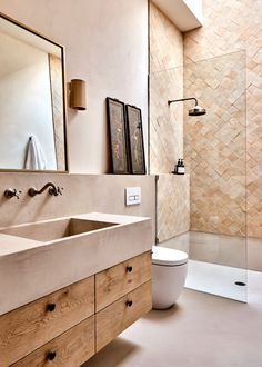 Bathroom Design Inspiration, Modern Bathroom Design, Bathroom Interior Design, Bathroom Designs, Design Ideas, Design Trends, Modern Luxury Bathroom, Modern Bathrooms, Bathroom Renos