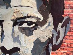 Détail /portrait de Bowie 46x62.