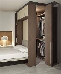 Image result for wardrobes behind bed