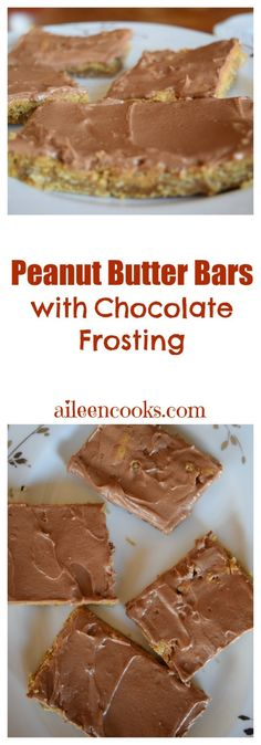 Peanut Butter Bars w