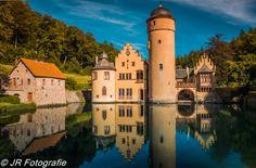 Schloss Mespelbrunn - Built in the 1400's, Schloss Mespelbrunn is located in the…
