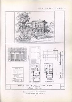 Design No 1075 1948 Homes — Home Building Plan Service Portland
