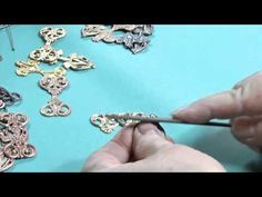 Use Your Metal Hole Punch Correctly, Easy Earrings Project from Victoria...