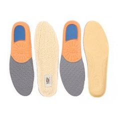 Make each stride traditional & luxurious with Twinsole Insoles by UGG. Featuring both one pair of the leather insoles and one pair of the wool insoles allowing you to transform your own personal style.
