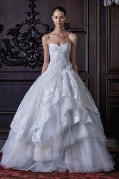 Robes de mariée sur Monique Lhuillier - POWDER - Mariages.net