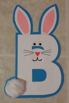 B is for… | Literacy Center Craftivity Preschool Lesson Plans