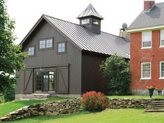 restored antique barn, love the steel roof with cupola - McKernon Group