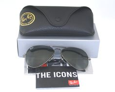 Ray Ban RB3025 Aviator Large Metal Matte Gold Sunglasses CC 112 68f   eBay 8761da1145bd