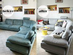 Dipingere il divano