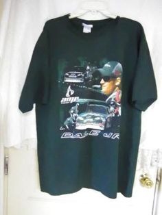 NASCAR. DALE EARNHARDT JR. #88 TWO SIDED SHIRT. FREE SHIPPING FREE PHOTONS.
