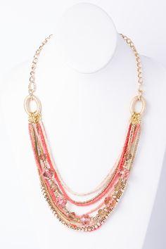 Blossom Beaded Necklace