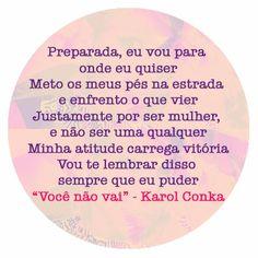 Pra ouvir: Karol Conka